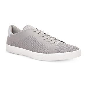 卡尔文·克雷恩 Mens Ion Knit Weave Textured 运动鞋 #CementFlint 灰色 #Cement/Flint Grey