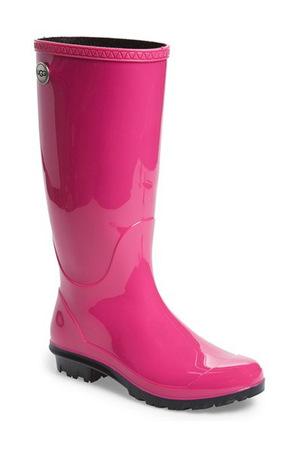 UGG® Australia-'Shaye' Rain Boot (Women)-Blue Jay Rubber