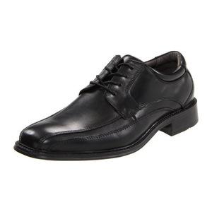 道格斯(Dockers) 男式Endow黑色花边表面皮鞋 #Black