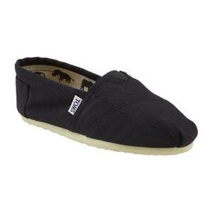 汤姆斯(TOMS) 女士经典渔夫鞋 #Black