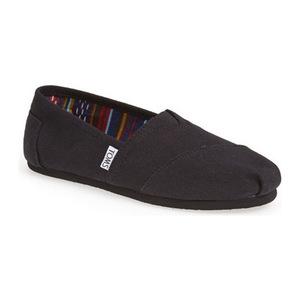 汤姆斯 女士一脚蹬运动鞋 #Black