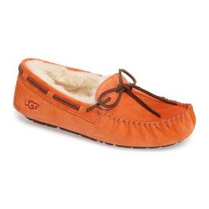 UGG® UGGDakota 拖鞋女士 #Fire Opal 麂皮 #Fire Opal Suede
