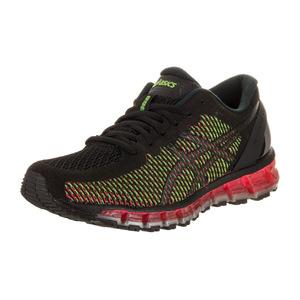 亚瑟士 跑步鞋 #Black/White/Green Gecko