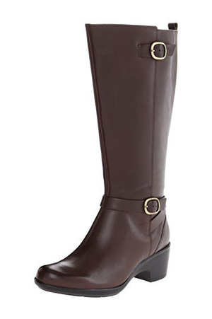 其乐(Clarks) 女士及膝靴 #Brown