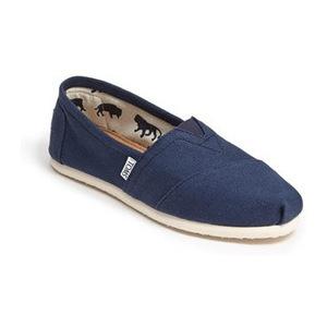 汤姆斯(TOMS) 女士经典渔夫鞋 #Navy