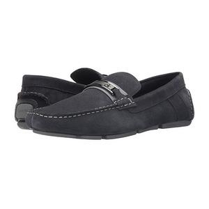 卡尔文·克雷恩 男士休闲鞋 #Grey Perf Suede