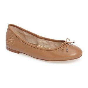 山姆爱德曼(Sam Edelman) Felicia 平底鞋 #金色淡褐真皮 #Golden Caramel Leather
