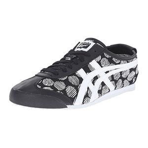 鬼冢虎(Onitsuka Tiger) Mexico 66 Fashion 运动鞋 #BlackWhite #Black/White