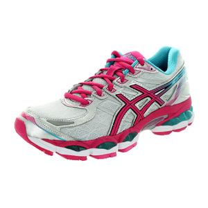 亚瑟士 跑步鞋 #Lightning/Hot Pink/Blue