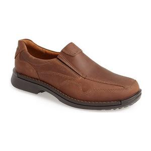 爱步 男士休闲乐福鞋 #Cocoa Brown