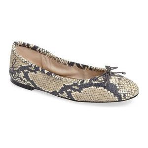 山姆爱德曼(Sam Edelman) Felicia 平底鞋 #米黄色真皮 #Beige Leather