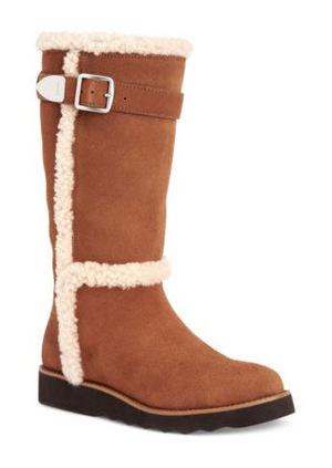 蔻驰(Coach) COACH Belmont ColdWeather Boots #SADDLE 棕色 #SADDLE BROWN