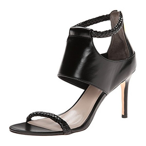 可汗(Cole Haan) Women's Lise Sandal #Black Leather
