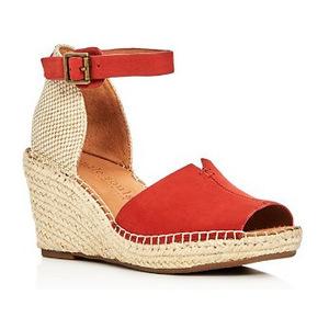 Gentle Souls 女士凉鞋 #Red