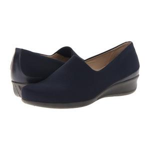 爱步(ECCO) 女士穆勒鞋 #Marine/Marine Firefly Textile