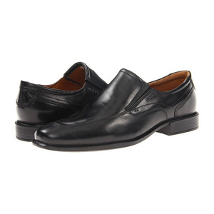 爱步(ECCO) 男士皮鞋 #Black Oxford Leather