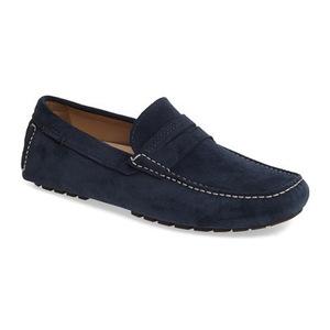 爱步 男士乐福鞋 #Denim Blue
