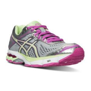 亚瑟士(Asics) 女士板鞋 #SILVER/PISTACHIO/PINK GLO