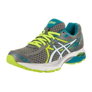 亚瑟士 跑步鞋 #Titanium/White/Enamel Blue
