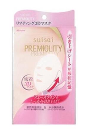 suisaiスイサイカネボウ suisai プレミオリティリフトモイスチャー3Dマスク
