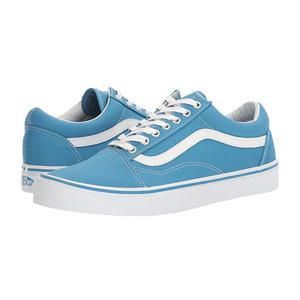 万斯(Vans) Old Skool #帆布 Cendre BlueTrue 白色 #(Canvas) Cendre Blue/True White