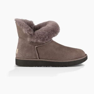 UGG CLASSIC CUFF 迷你 #Select color STORMY 灰色 #Select color STORMY GREY