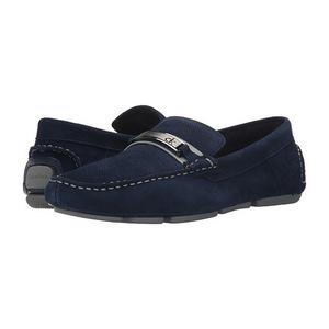 卡尔文·克雷恩 男士休闲鞋 #Navy Perf Suede