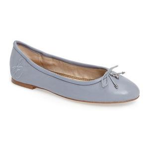 山姆爱德曼(Sam Edelman) Felicia 平底鞋 #浅灰色蓝色真皮 #Dusty Blue Leather
