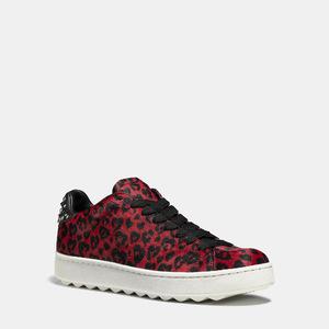 蔻驰(Coach) 低帮鞋 #RED BLACK/BLACK