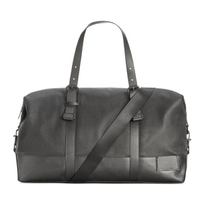 卡尔文·克雷恩 男士帆布旅行袋 #Black