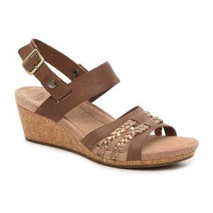 UGG Serinda Wedge Sandal #深褐 #Dark Brown