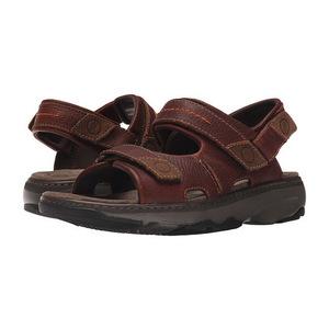其乐 男士凉鞋 #Brown Leather