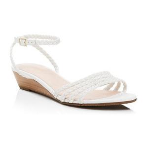 凯特·丝蓓 坡跟鞋 #White