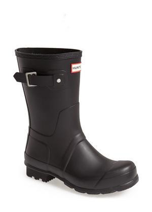 Hunter Original Short Rain Boot 男士 #黑色 #Black