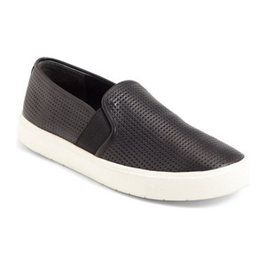文斯 Blair 5 一脚蹬运动鞋女士 #Perforated 黑色真皮 #Perforated Black Leather