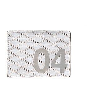 Maison Pourchet 宝榭 数字系列卡片夹 #Blanc