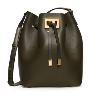 Michael Kors Collection 女士水桶包 #Luggage