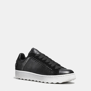 蔻驰(Coach) C101男鞋 #BLACK