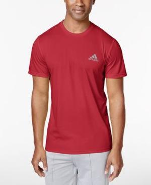 阿迪达斯(Adidas) adidas Essential Tech Tshirt #猩红 #Scarlet