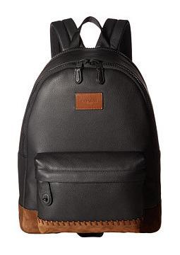 蔻驰(Coach) Campus 双肩包 #BlackBlack 红褐色 #Black/Black Mahogany