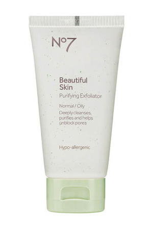 Boots No7 Boots No.7 Beautiful Skin Purifying Exfoliator  Normal to Oily