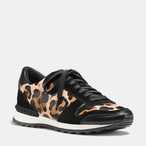 蔻驰(Coach) 女士运动鞋 #NATURAL/BLACK