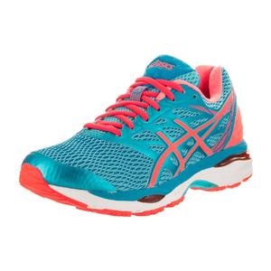 亚瑟士 跑步鞋 #Aquarium/Flash Coral/Blue Jewel