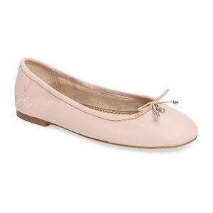 山姆爱德曼(Sam Edelman) Felicia 平底鞋 #淡黄真皮 #Primrose Leather