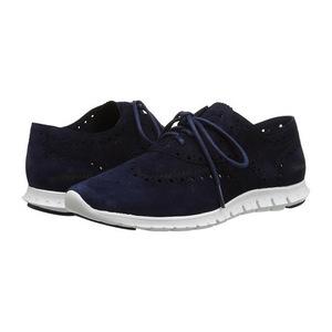 可汗(Cole Haan) 女士休闲鞋 #Blazer Blue Suede