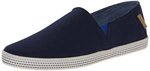 泰德贝克(Ted Baker) 泰德·贝克-男式Leeno深蓝色无鞋带休闲鞋 #Dark Blue