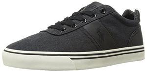 拉夫·劳伦(Polo Ralph Lauren) 男式黑色时尚运动板鞋 #Black