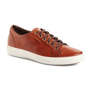 爱步 Soft 7 运动鞋男士 #红褐色 #Mahogany